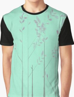 Lavender Trees on a Minty Day Graphic T-Shirt
