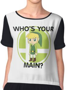Who's Your Main? Toon Link! Chiffon Top