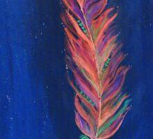 Midnight Feather Sticker