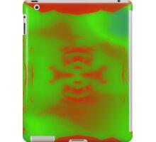 Red Teardrops iPad Case/Skin