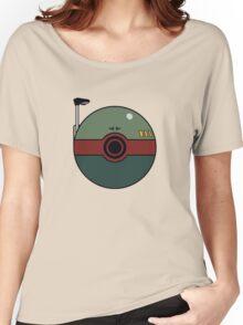 Boba Fett Pokemon Ball Mash-up Women's Relaxed Fit T-Shirt