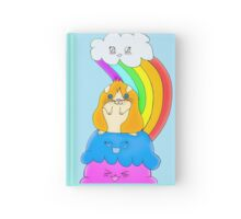Whiskers the Guinea Pig Hardcover Journal