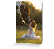Pony Kisses Greeting Card