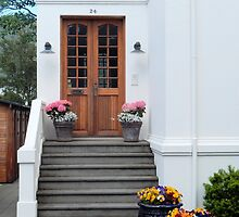 Summer Front Entrance by Kathleen Brant