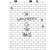The Watchers On Pink Floyd's Wall Photographic Print