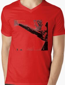 Led Zeppelin Star Destroyer Mens V-Neck T-Shirt
