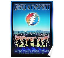 dead and company summer tour 2016 alpine valley music theatre-east troy,wi Poster