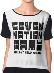 Seven Nation Army The White Stripes Lyrics Chiffon Top