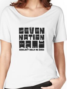Seven Nation Army The White Stripes Lyrics Women's Relaxed Fit T-Shirt