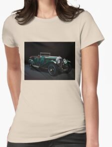 Bentley Open Tourer 1929 Painting Womens Fitted T-Shirt