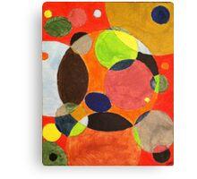 Modernistic Circles Canvas Print