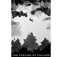 The Feeling of Falling Photographic Print