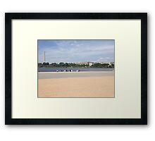 Views in Washington D.C. Framed Print