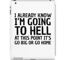 Funny Quote Party Hell Cool Random Humor iPad Case/Skin