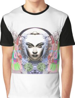 Spring Moon; Expressionism Digigraph by leading Upside Down artist  L. R. Emerson II Graphic T-Shirt