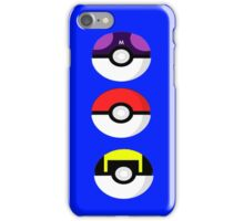 Pokemon balls iPhone Case/Skin