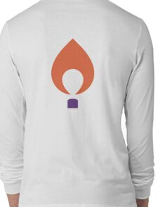 Flame--Clemson University Long Sleeve T-Shirt