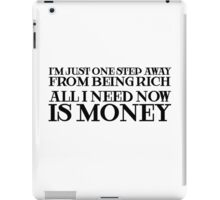 Money Humor Random Rich Ironic Cool iPad Case/Skin