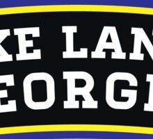 LAKE LANIER GEORGIA ANCHOR GA NAUTICAL HOUSEBOAT BOATING  Sticker