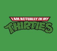 Teenage Mutant Ninja Thirties Kids Clothes