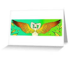 Winged Anakin Skywaler Greeting Card