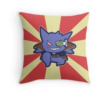 Captain Gengar of Ginyu Squad Throw Pillow