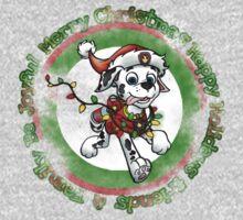 Christmas Dolmation Kids Tee