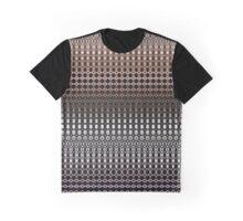 Waving Wood Pattern Graphic T-Shirt