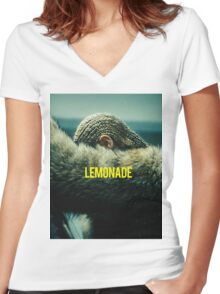 BEYONCE Women's Fitted V-Neck T-Shirt