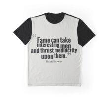 David Bowie Fame Graphic T-Shirt