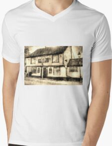 The Coopers Arms Pub Rochester Vintage Mens V-Neck T-Shirt