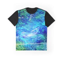 Serenity in the Garden Graphic T-Shirt