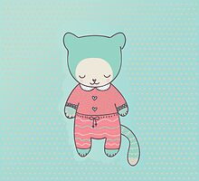 Cute cat clothing by Marina Demidova