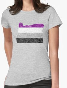 oregon asex Womens Fitted T-Shirt