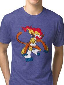 Infernape Tri-blend T-Shirt