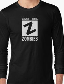 Zombies Rating Long Sleeve T-Shirt