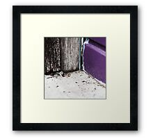 { Corners: where the walls meet #14 } Framed Print