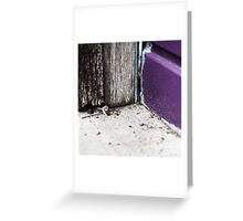 { Corners: where the walls meet #14 } Greeting Card