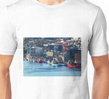 St. John's Newfoundland town and harbor   NL Unisex T-Shirt