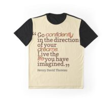Henry David Thoreau Graphic T-Shirt