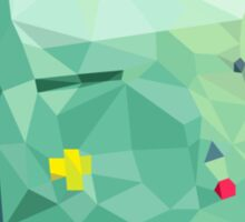 Beemo Polygonal | Adventure Time Sticker