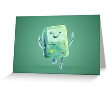 Beemo Polygonal | Adventure Time Greeting Card