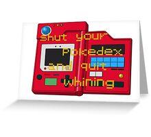Pokedex  Greeting Card