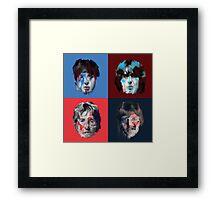 The Beatles Illustration Framed Print