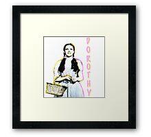Retro Dorothy  Framed Print