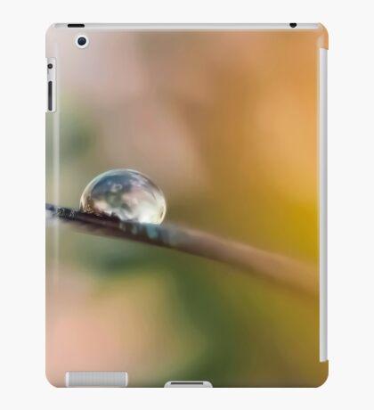 Teardrop on Feather iPad Case/Skin