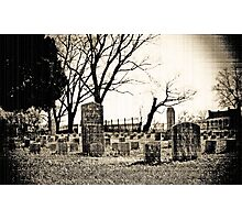 McGavock Cemetery-Franklin, Tn. Photographic Print