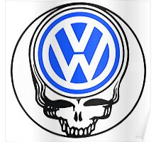 Steal Your Wagen Blue Poster