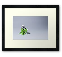 Embrace your wild side Framed Print