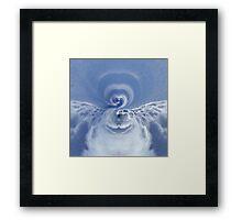 The Formation of Heartfelt Spirit Clouds Framed Print
